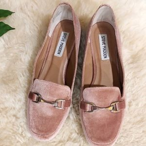 Steve Madden Paulo Pink Loafers